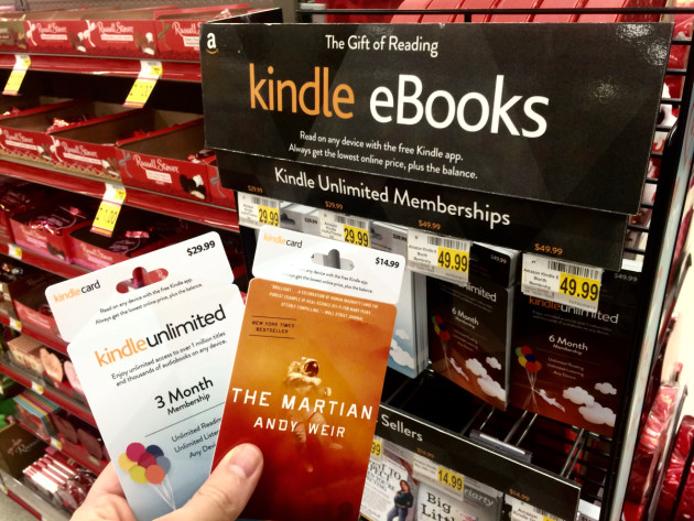 The gift card network amazons other physical retail test a mini bookstore for kindle ebooks fandeluxe Choice Image